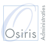Osiris Administraties is een professioneel administratie- en financieel advieskantoor. Logo
